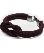 Cabo d'mar reef knot burgundy